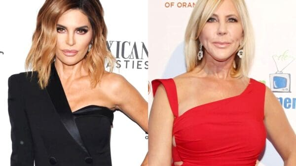 """Did RHOBH Star Lisa Rinna Shade Vicki Gunvalson After RHOC Alum Said Her 'Table Dancing' at Andy Cohen's Baby Shower Was """"Messed"""" Up? See Lisa's Post"""
