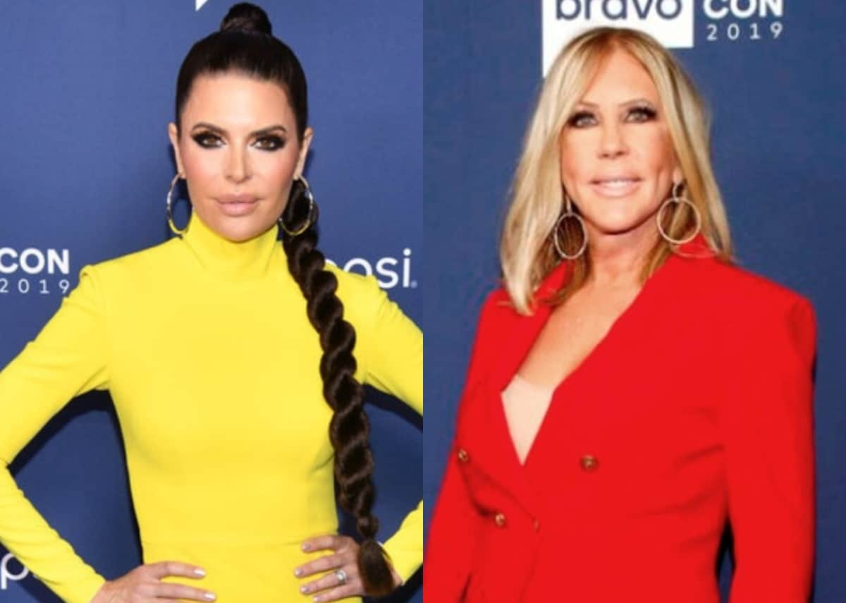 """RHOBH's Lisa Rinna Posts """"Before"""" and """"After Vicki"""" Photos After RHOC Alum Vicki Gunvalson Claims She """"Wouldn't Have a Job"""" Without Her and Says She """"Looked Down"""" on Her, See How Her Co-Stars Reacted!"""