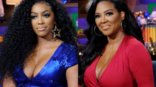 "RHOA's Porsha Williams Slams Kenya Moore As ""Vile and Jealous,"" Agrees She Is Embarrassing Herself On The Show And Suggests She ""Get a Life"""