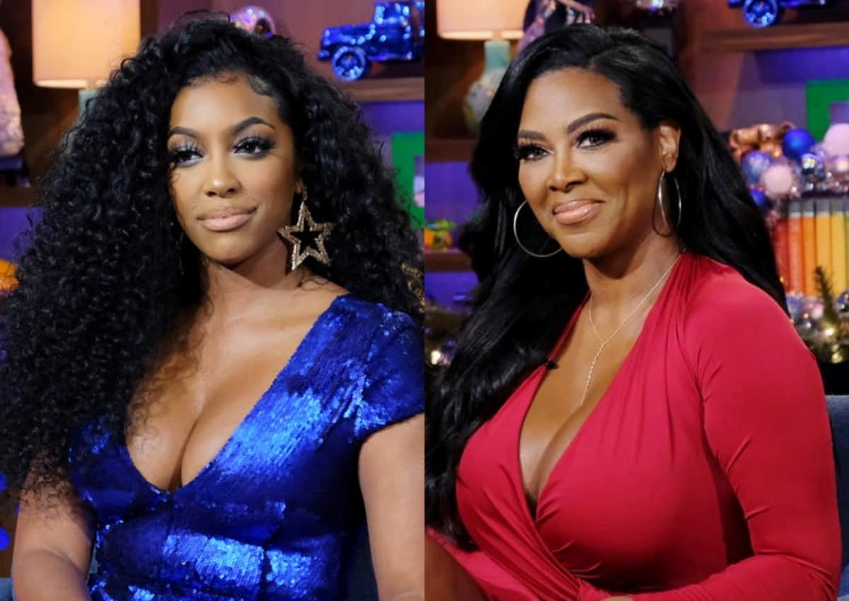 """RHOA's Porsha Williams Slams Kenya Moore As """"Vile and Jealous,"""" Agrees She Is Embarrassing Herself On The Show And Suggests She """"Get a Life"""""""