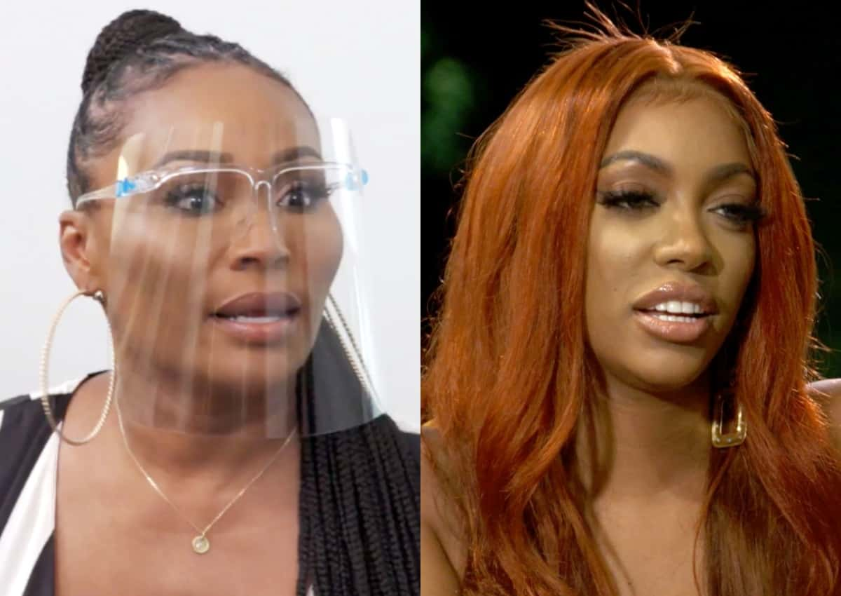 Porsha Not Happy Cynthia Is Inviting Ex Dennis To Wedding, Plus Cynthia Gets Grief From Mom For Inviting Dad