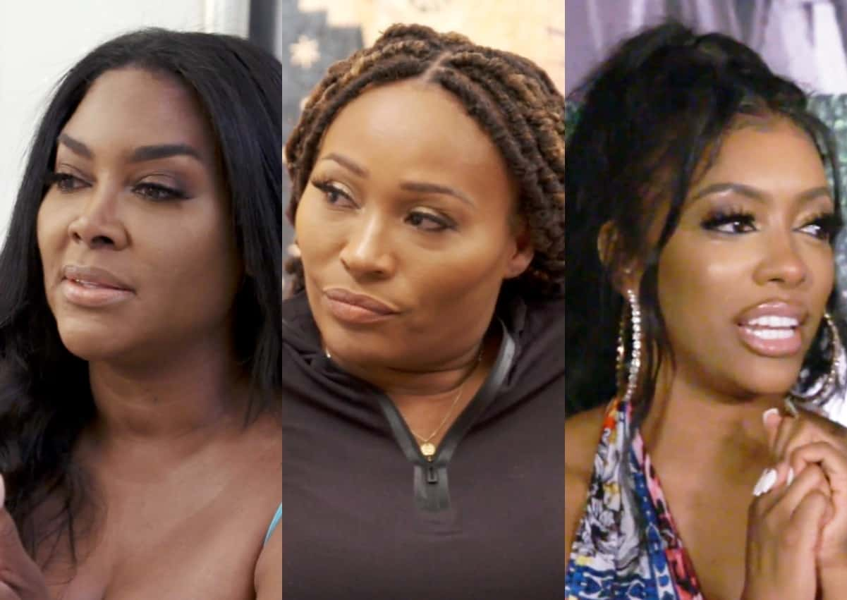 """RHOA Recap: Kenya breaks the 4th wall questioning Cynthia """"Is the Wedding just for the show?"""""""