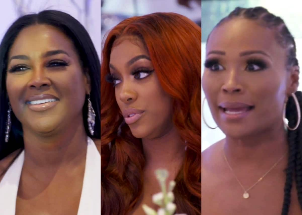 RHOA Recap: Kenya Confronts Porsha Over Rescinded Invitation To Her Event, Throws Surprise Engagement Party For Cynthia