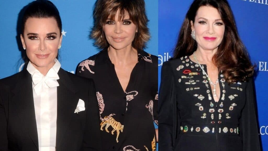 """PHOTO: RHOBH's Kyle Richards And Lisa Rinna Seemingly Shades Lisa Vanderpump As """"Bitter"""" And """"Disgruntled"""" In Response To Her Negative Comment About The Cast, See Their Shocking Posts"""