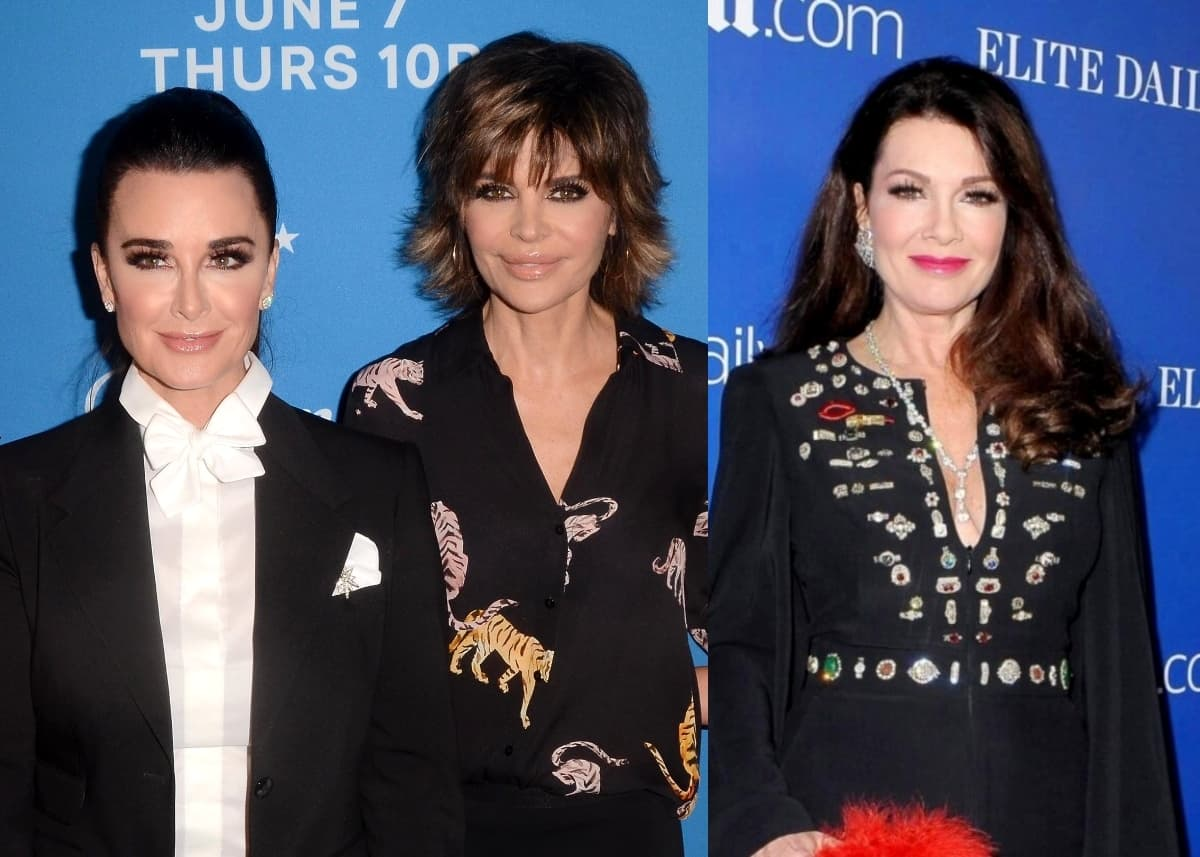 "Kyle Richards and Lisa Rinna Call Lisa Vanderpump 'Bitter' & 'Angry' for Allegedly Defacing RHOBH Photo as Teddi Mellencamp Admits She Feels ""Really Special"""