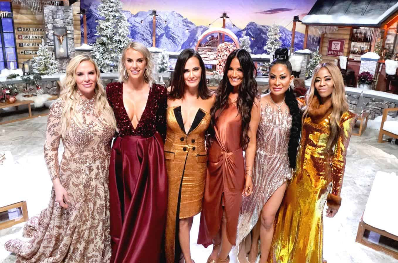 "PHOTOS: See the RHOSLC Reunion Looks as the Cast Shows Off Sparkling Dresses After the ""Unprecedented"" Season 1!"