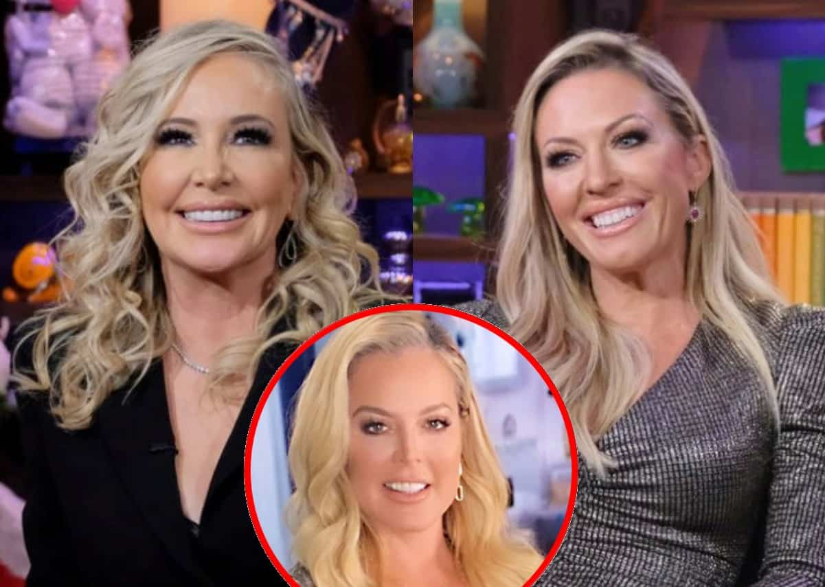 """Shannon Beador Says Braunwyn Programmed Her Own Number In Daughter Stella's Phone As """"Cool Mom"""" But Now Claims RHOC Co-Star """"Didn't Offer Drugs,"""" Plus She Talks Elizabeth's Bisexual """"Shocker"""""""
