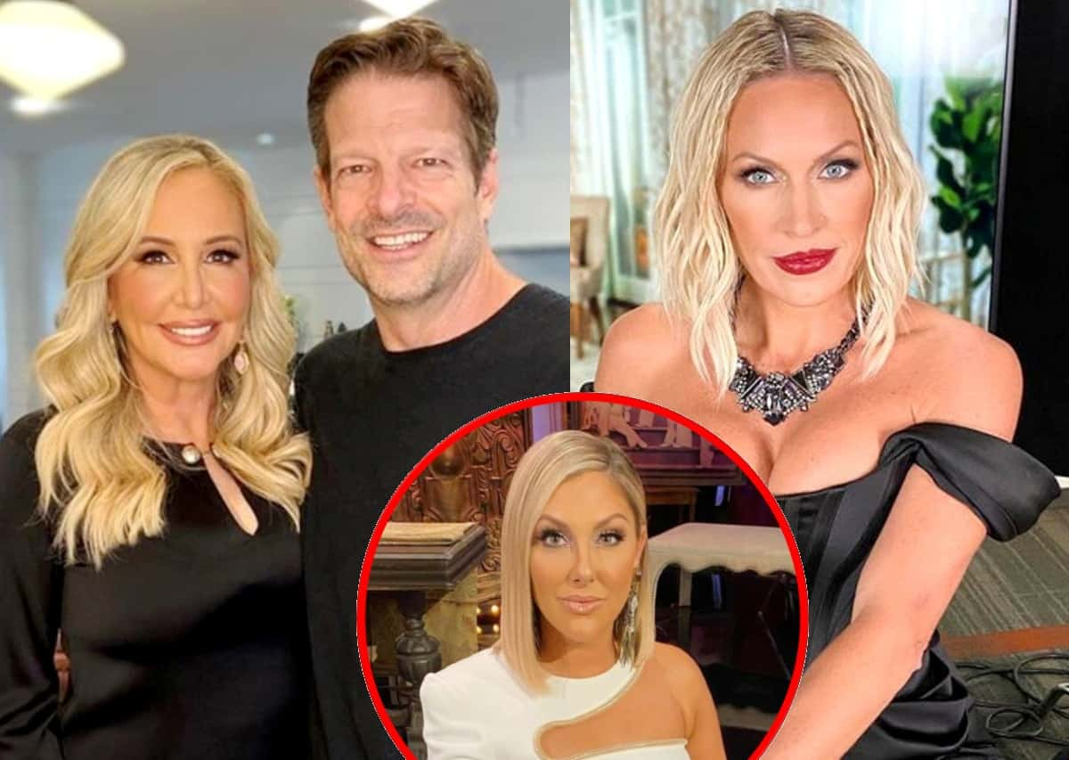 """Shannon Beador Claims Braunwyn Windham-Burke Admitted to Lying to Get on RHOC, Reacts to Gina's Concerns About Her Relationship With John Janssen and Says Producers Make It Seem Like She's """"Crying and Whining"""" All the Time"""