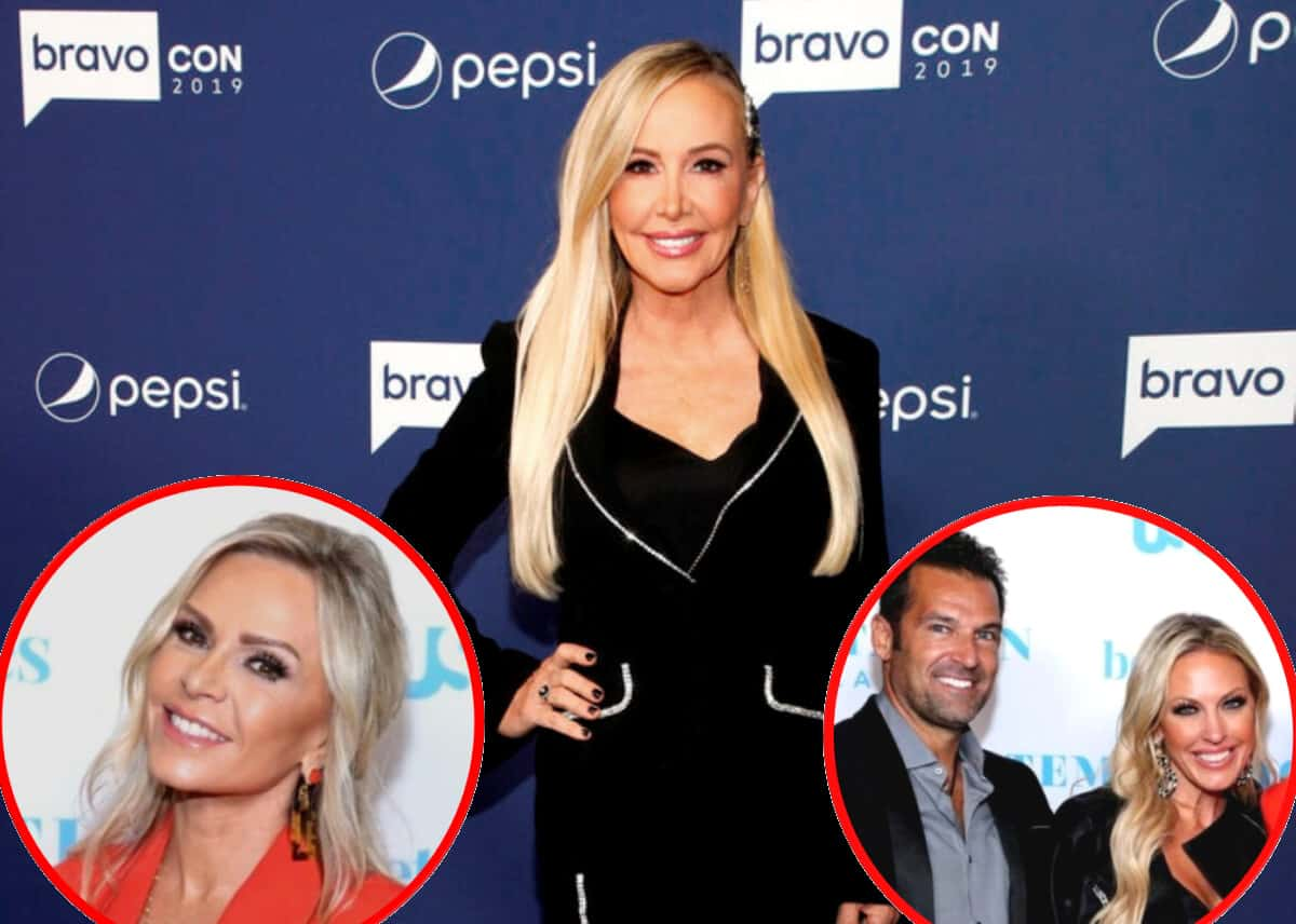 """Shannon Beador Fires Back at Tamra Judge's 'Alcoholic' Claim Against Her, Denies Braunwyn Got a 'Bad Edit' on RHOC and Says a 'Normal"""" Woman Wouldn't Date Sean Burke"""