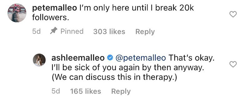 RHONJ Ashlee Holmes Jokes About Getting Sick of Husband Pete