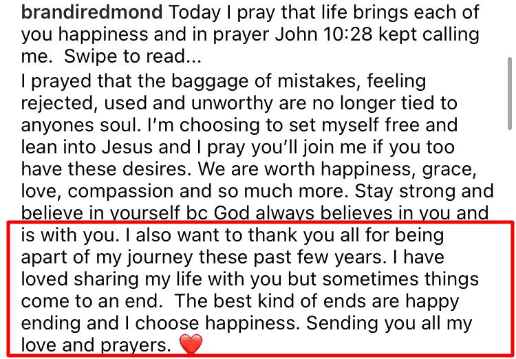 Brandi Redmond quits RHOD