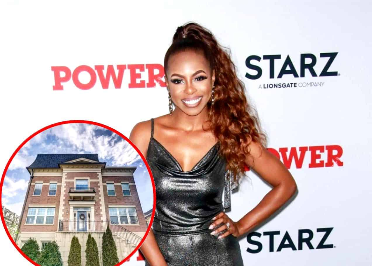 PHOTOS: Candiace Dillard Lists D.C. Townhouse for $799,000, Go Inside RHOP Star's Home and See Its Rooftop Deck and Stunning Views
