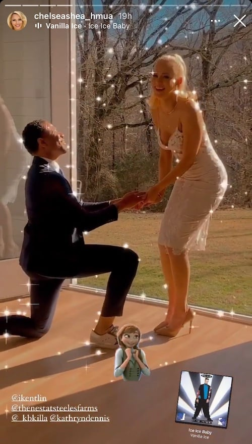 Southern Charm Chleb Ravenell Appears to Propose to Kathryn Dennis