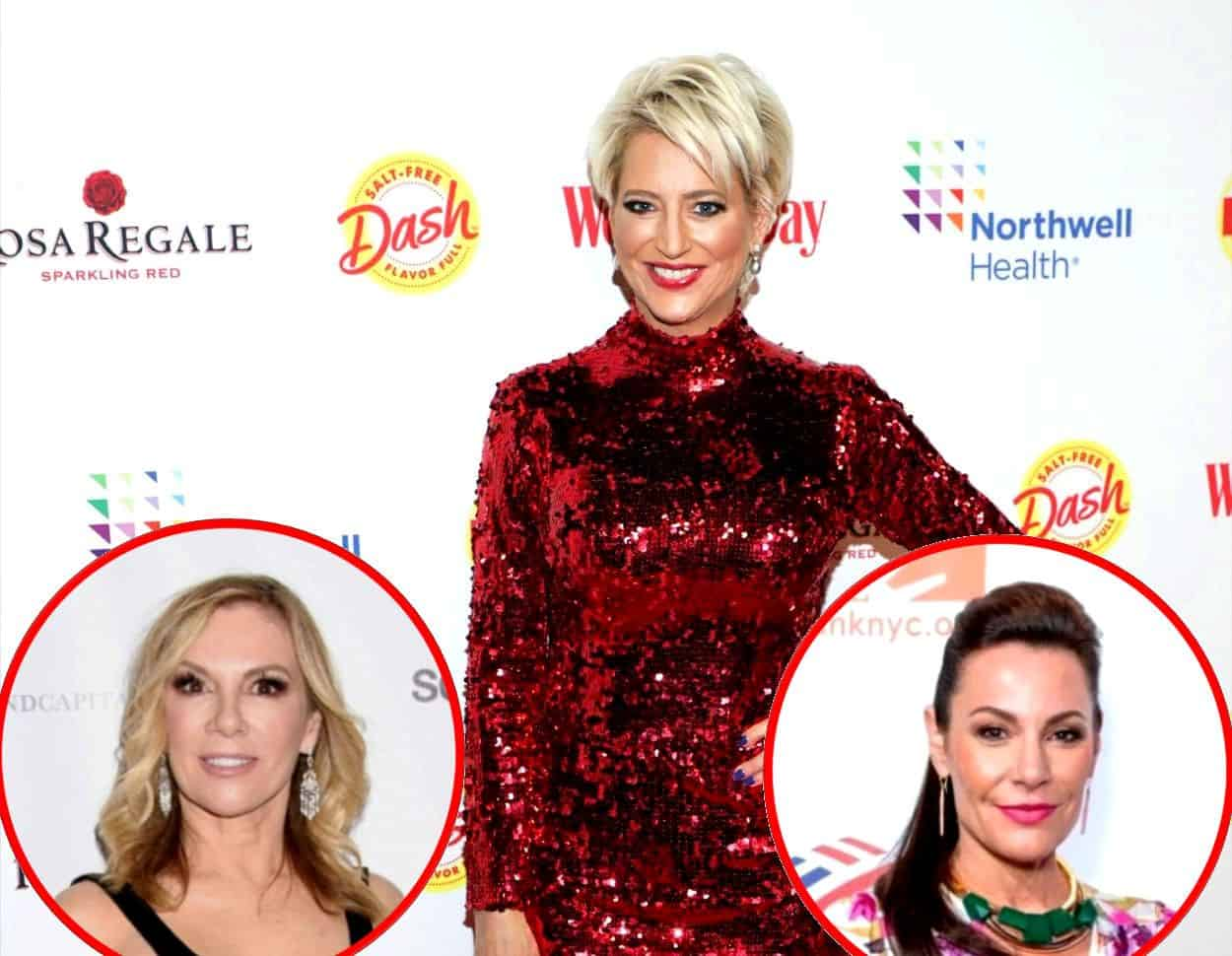 """Dorinda Medley Says She's """"Confused"""" By Way She Was Fired From RHONY, Admits She Wanted Opportunity To Redeem Herself As She Shades Ramona Singer and Luann de Lesseps"""