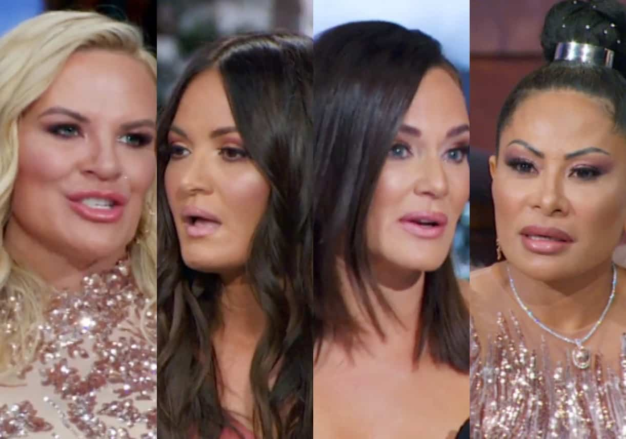 RHOSLC Reunion Part 1: Heather Accuses Lisa Of Being A Snob, Meredith Calls Out Lisa For Her Behavior At Her House And Gets Outed As A Smoker