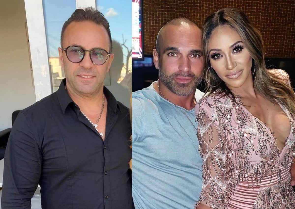 """RHONJ's Joe Giudice Defends Teresa Against Melissa Gorga By Telling Her To """"Shut Up,"""" Accuses Her Of """"Fake Storylines"""" And Suggests She And Joe Gorga Destroy Families To Stay Relevant"""