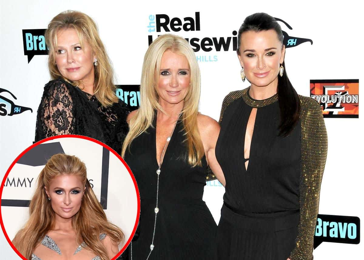 RHOBH's Kyle Richards Confirms Death Of Dog In Emotional Instagram Tribute As Paris Hilton Reacts To Mom Kathy Joining The Cast And Reflects On Kyle And Kim Richards' Messy On-Camera Feuds