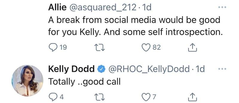 RHOC Kelly Dodd Confirms Need for Social Media Break
