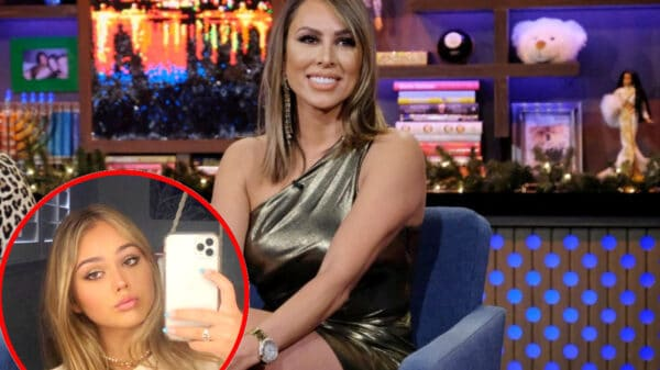 """Kelly Dodd Shares Loving Note From Daughter Jolie Amid Feud With Step Daughter Veronica Leventhal, Gets Told To Be A """"Good Step Mom"""" As RHOC Alum Gretchen Rossi Weighs In"""