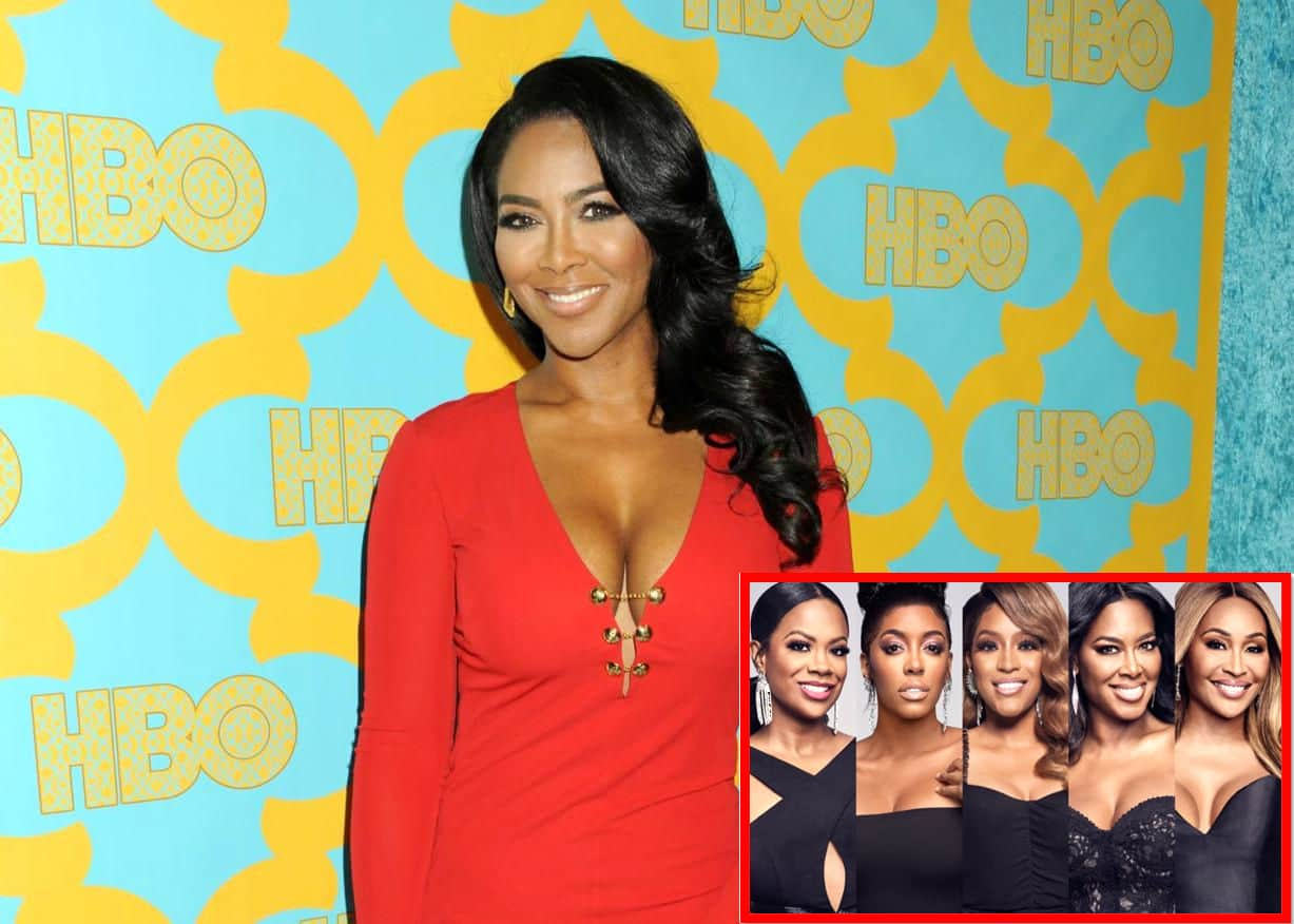 """Kenya Moore Defends Herself Amid Backlash For Ditching Co-Stars And Shades Other RHOA Moms Stating """"I Put My Child First,"""" Plus She Claps Back At Porsha Williams Over Snide Comment"""