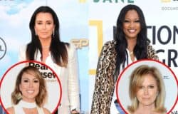 "RHOBH's Kyle Richards Denies Shading Garcelle Beauvais And Explains Why She's Missing From Cast Photo, Weighs In On Kelly Dodd Drama, Plus Says Working With Sister Kathy Hilton Is ""Interesting"""
