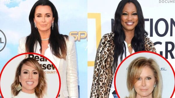 "RHOBH's Kyle Richards Denies Shading Garcelle Beauvais And Explains Why She's Missing In Photo, Weighs In On Kelly Dodd's Drama And Claims Working With Sister Kathy Hilton Is ""Interesting"""