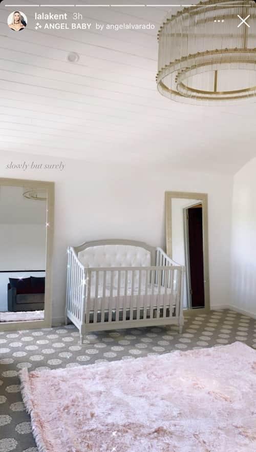 Vanderpump Rules Lala Kent Shares Photo of Daughter's Nursery