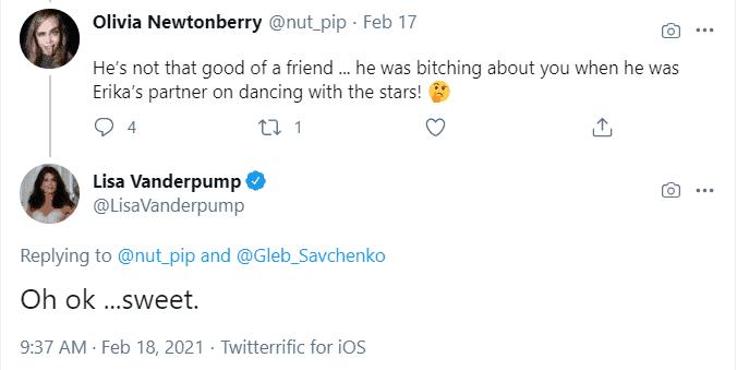 Lisa Vanderpump claps back at fan