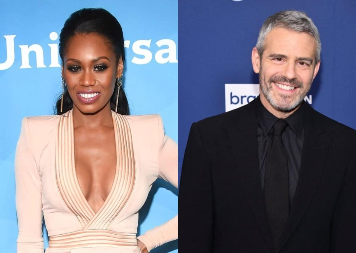 """Monique Samuels Alleges Andy Cohen Held Her """"To A Different Standard"""" And Reveals Whether She'd Ever Consider Returning To RHOP"""