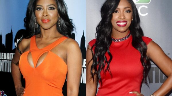 "Kenya Moore Defends Herself Against ""Snitching"" Claims As She Blasts Porsha Williams And RHOA Co-Stars On Twitter, Says Don't Do ""Private Business"" On A Reality Show"