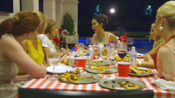 Dr. Tiffany's Party Ends In Disaster As Brandi Falls Ill After Eating Tiffany's Crickets Pizza, And Stephanie Goes Over Budget On Charity Project