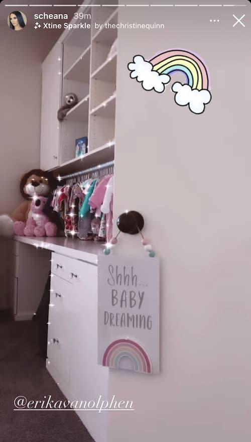 Vanderpump Rules Scheana Shay Takes Fans Inside Daughter's Nursery
