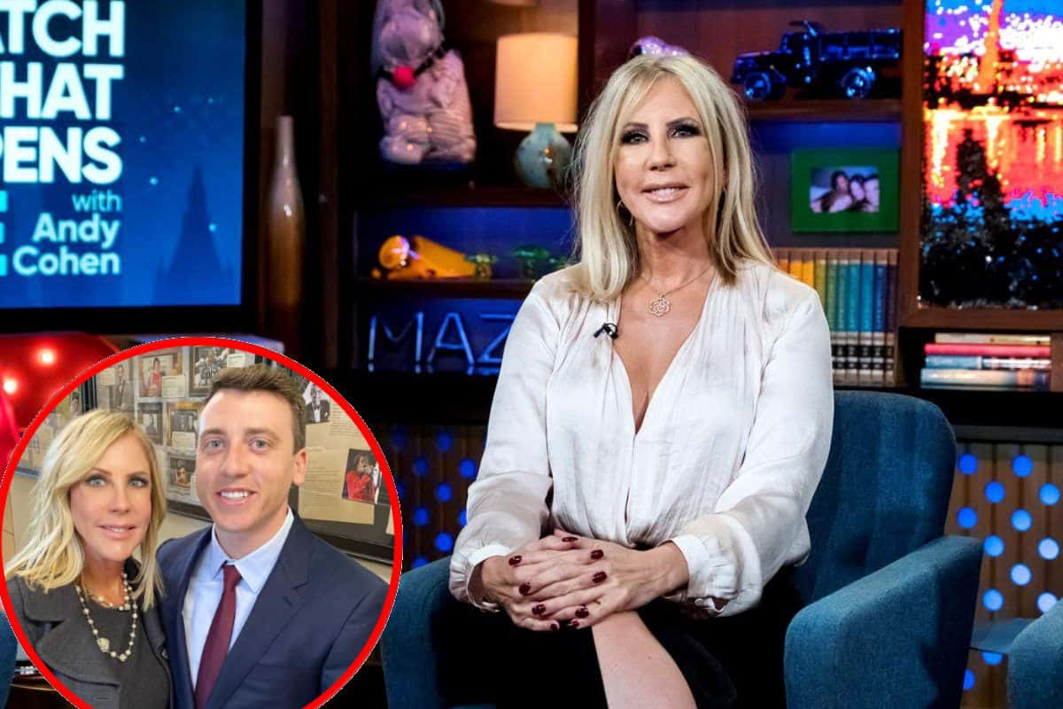 RHOC Alum Vicki Gunvalson Offers an Update on Son Michael Wolfsmith After a Fan Points Out That He's Missing From Her Many Trips, Find Out Where He's Living as She Expresses Pride in His Career Success