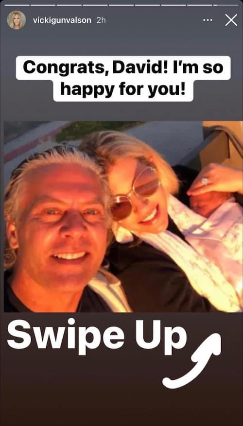 RHOC Vicki Gunvalson is So Happy for David Beador After Daughter's Arrival