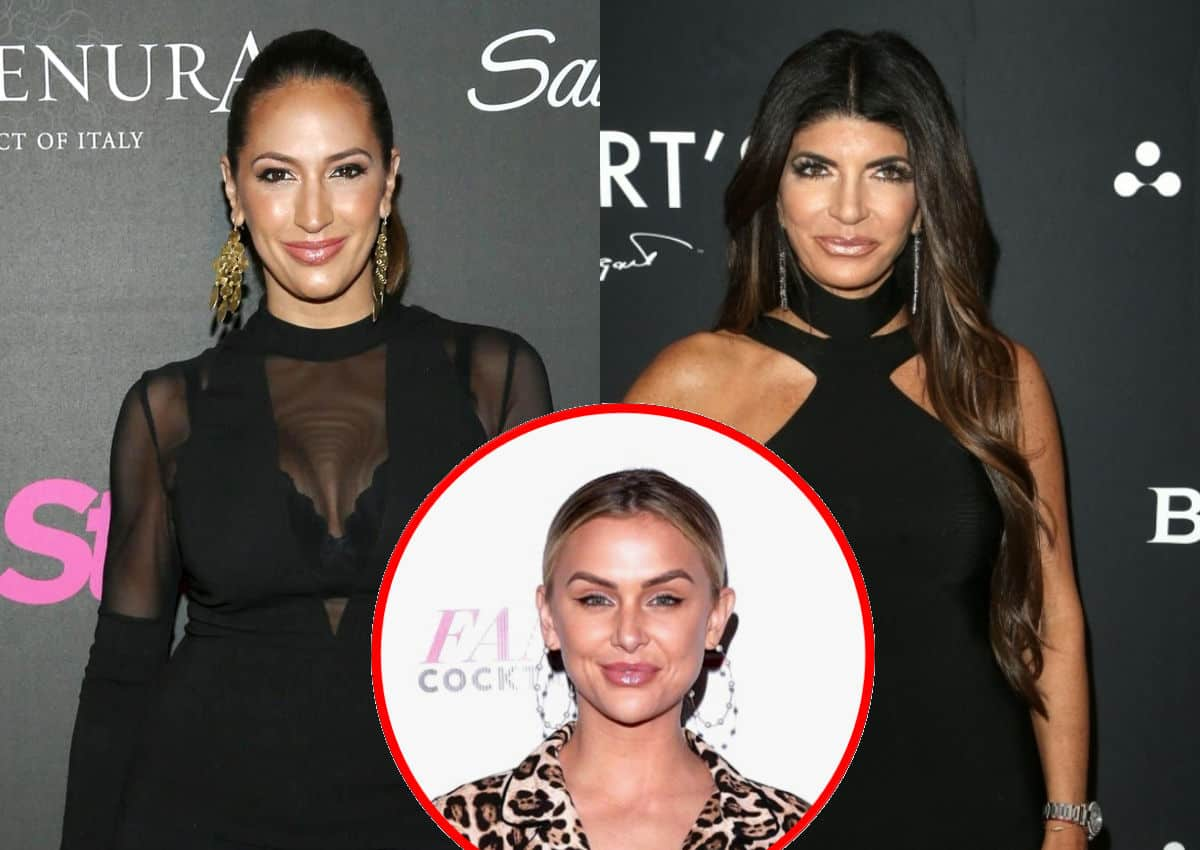 """Ex RHONJ Star Amber Marchese Says Teresa Giudice Is Bravo's """"Little Soldier"""" And """"Doesn't Care Who She Hurts"""" Amid Jackie Drama, Plus Lala Kent Slams Amber's Husband"""