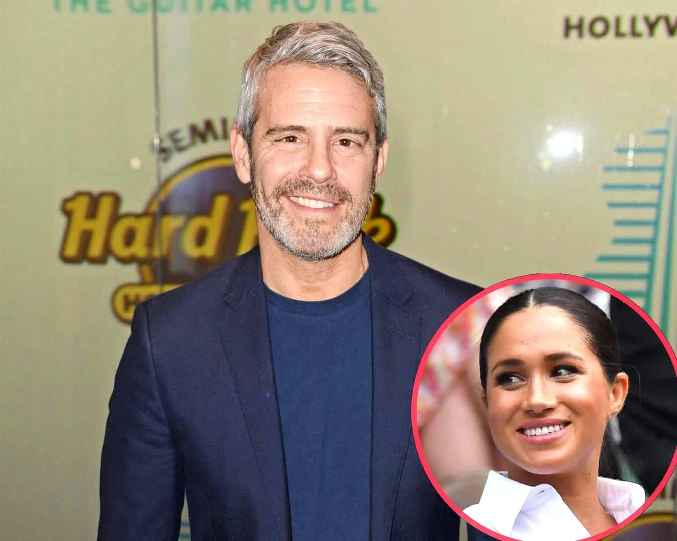 Andy Cohen Names Hardest Guest to Book on WWHL and His Favorite, Plus He Addresses Meghan Markle Interview and Shares the Gifts Ben Received From Housewives