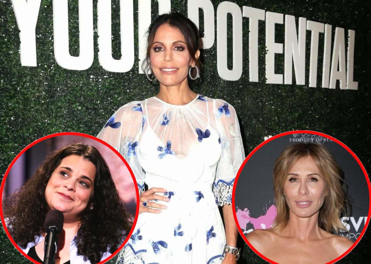 "Comic Jessica Kirson Claims Bethenny Frankel Treated Her ""Like a Dog"" While Working on Her Show and Slams Her as a ""B-tch,"" Plus Carole Radziwill Reacts After Fan Unfollows RHONY Alum"