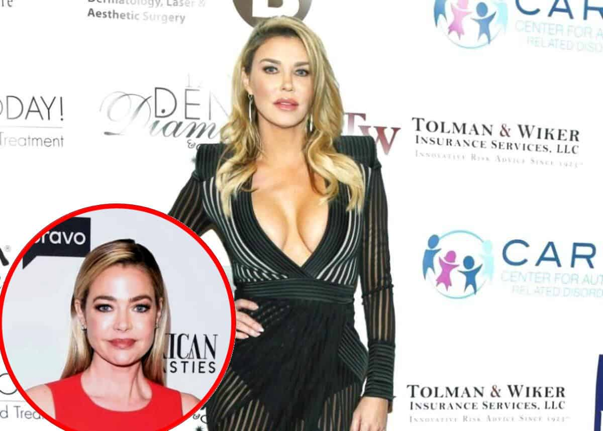 PHOTO: RHOBH Star Brandi Glanville Looks Unrecognizable During New Interview as She Admits Denise Richards Has Been Ignoring Her Emails