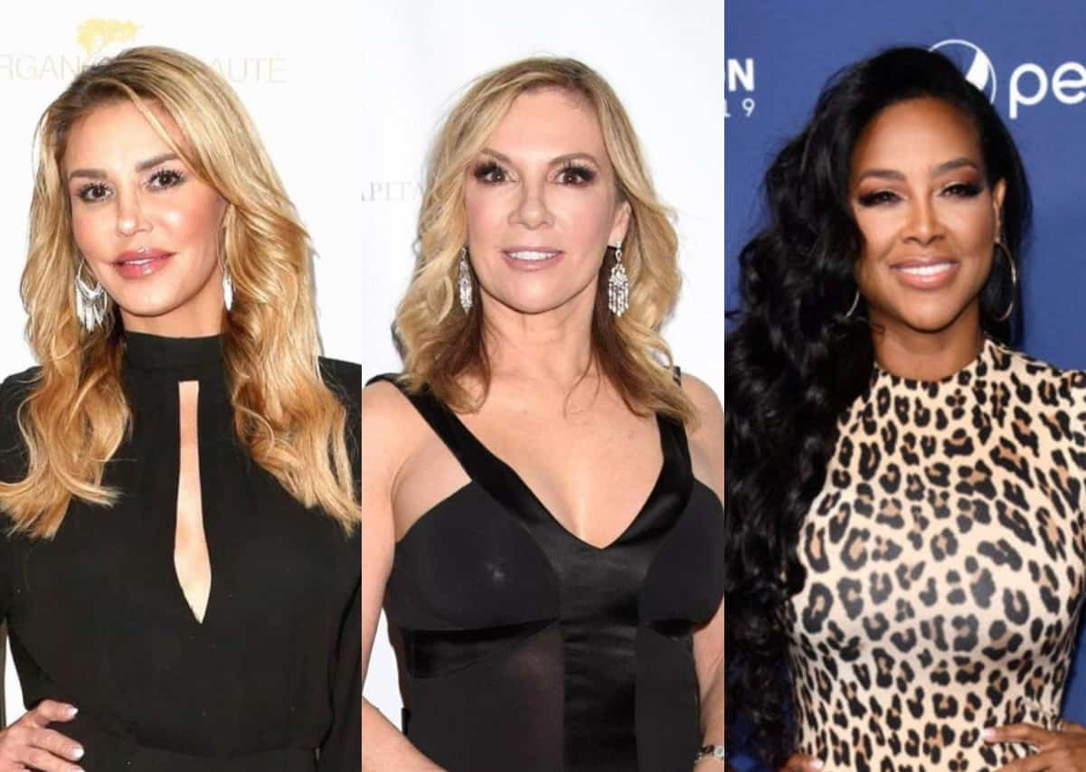 """RHOBH's Brandi Glanville Calls Ramona Singer the """"Worst Human Being"""" and Slams Kenya Moore as """"The Devil,"""" Plus Admits She Wasted a Decade Fighting With Eddie and Leann and Hints at Ryan Seacrest Fling"""