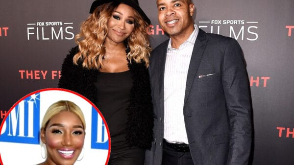 Mike Hill Reveals He Was A Fan Of Cynthia Prior To Meeting As He Dishes On His Relationship With The RHOA Star And Admits He Was Upset Nene Leakes Didn't Attend Their Wedding