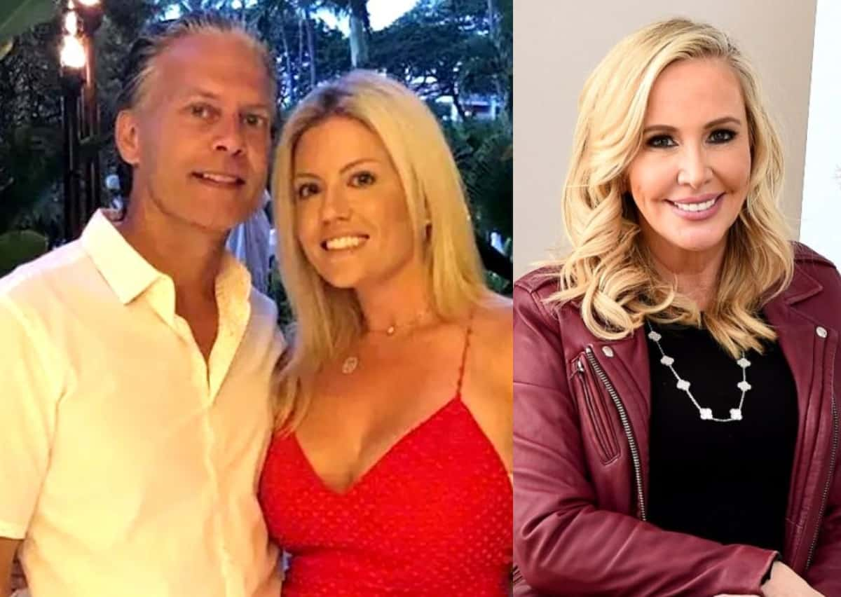 """David Beador's Wife Lesley Cook Calls Out Shannon Beador for """"Another Fake Story"""" and Requests She Let Them Be After the RHOC Star Claims She Sent Them a Baby Gift for Daughter Anna"""