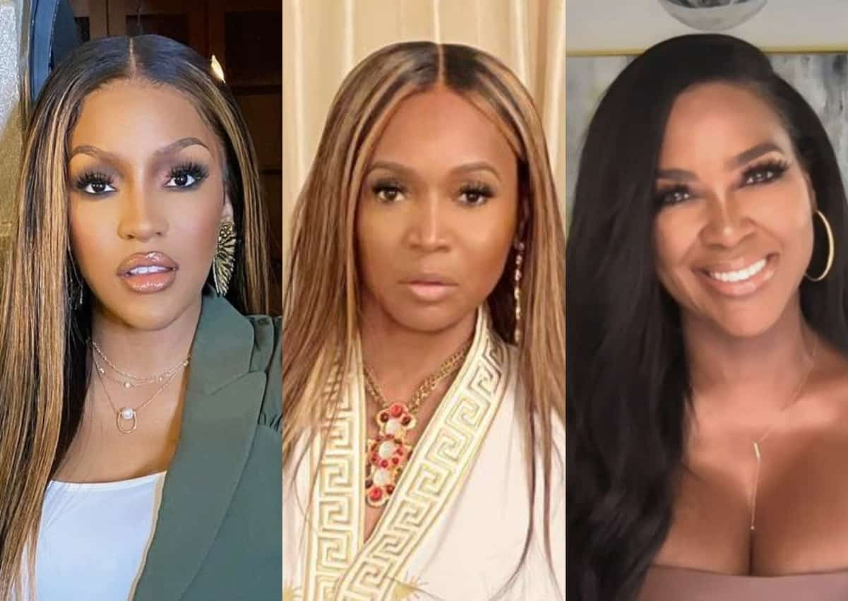 """Drew Sidora Accuses Marlo Hampton Of Doing """"Kenya's Dirty Work"""" After Questioning RHOA Costars About Bolo, Plus Cynthia Bailey Slams Marc Daly For Giving Kenya """"Mixed Signals"""""""