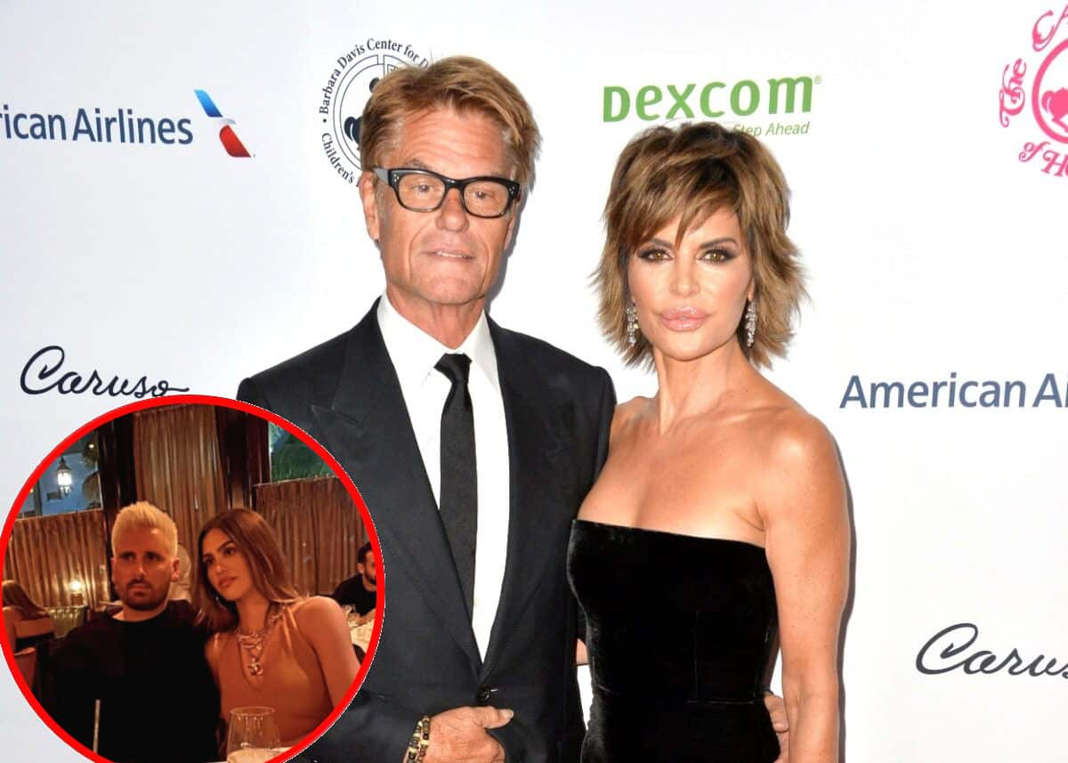 """REPORT: Lisa Rinna And Husband Were """"Skeptical"""" Of Amelia's Relationship With Scott And How The Kardashians Feel About Them, Plus Is RHOBH Family Getting A Show?"""