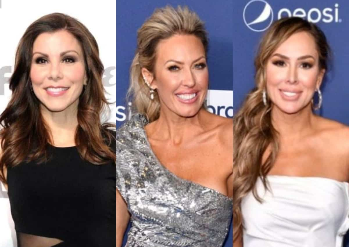 RHOC Alum Heather Dubrow Suggests Braunwyn Calls Paparazzi on Herself, See How Kelly Dodd Reacted and What She's Saying About Returning if Braunwyn is Asked Back!