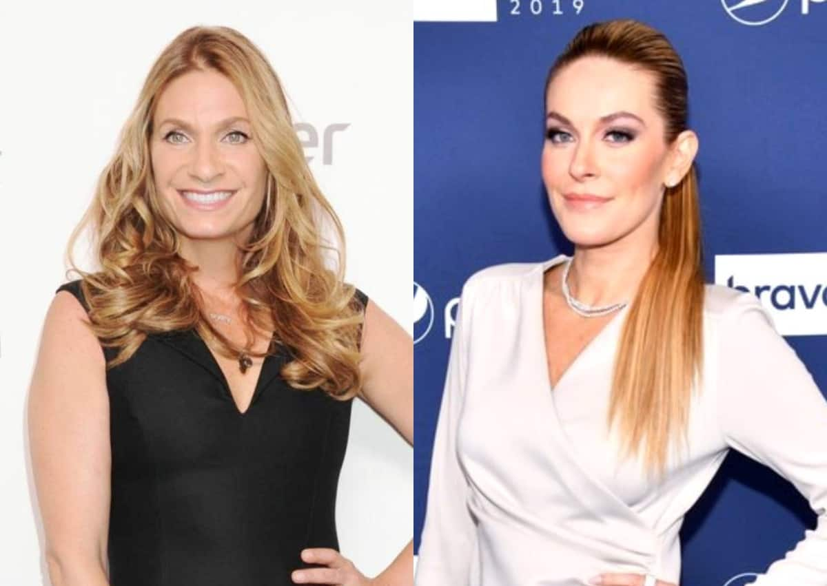 """REPORT: Heather Thomson Stopped Filming Season 13 Of RHONY Amid Feud With Leah McSweeney As Source Claims Leah """"Crossed A Line"""""""