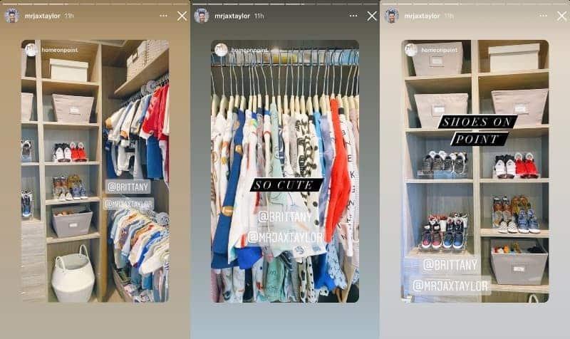 Vanderpump Rules Jax Taylor Shows Off Son's Closet