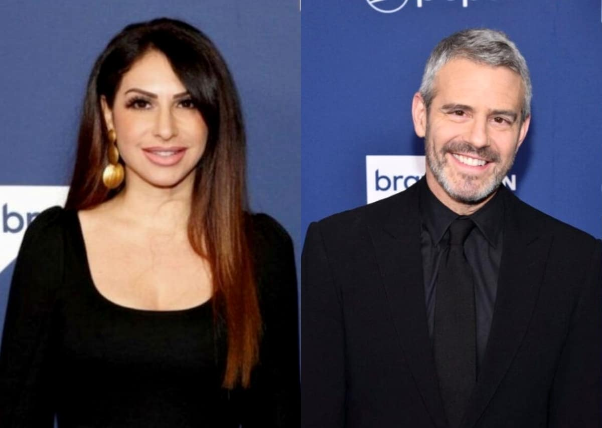 """RHONJ's Jennifer Aydin Calls Out Andy Cohen for Having """"Favorites"""" After He Seemingly Shades Her on WWHL, Denies Numbing Herself With Alcohol and Explains Why She Wanted Margaret Jospehs to Film Her Throwing Up"""