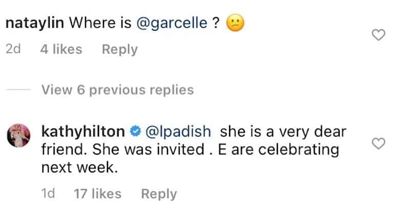 RHOBH Kathy Hilton Confirms Garcelle Beauvais Was Invited to Birthday Party