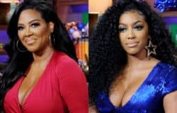 "Kenya Moore Reacts to Porsha Williams' 'Lumpy' Body Diss, Accuses RHOA Costar of Being ""Phony"" and Reveals Whether She's Dating Amid Separation From Marc Daly"