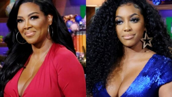 "Kenya Moore Reacts To Porsha Williams' 'Lumpy' Body Shade, Accuses RHOA Costar Of Being ""Phony"" And Reveals If She's Dating Amid Separation From Marc Daly"